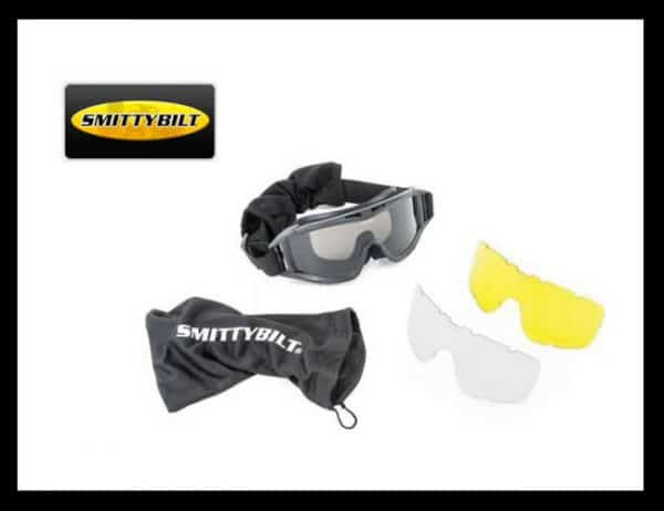 Off road protective goggles