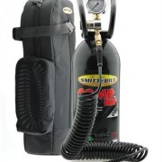 Air tank tyre pump