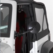 Quick Release Adjustable Trail Mirrors Jeep