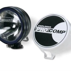 "Pro Comp 100W 6"" Black Spotlight Light Jeep"