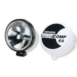 "ProComp 55 Watt Slim 5"" Fluted Spot Light Lights 4WD Offroad Jeep Spotlights"