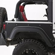 XRC Rear Side Quarter Panel Armour Skins Jeep 2dr 2007-16 JK Wrangler Rubicon