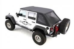 Smittybilt Bowless Combo Top With Tinted Windows