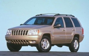 Jeep GC WJ 1999 ECU