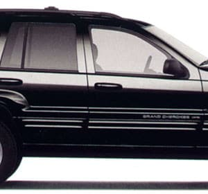 Jeep WJ 1999 Black