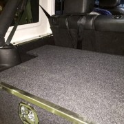 Jeep JK Wrangler drawer system
