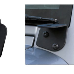 JW Speaker A-Pillar Light Bracket Jeep JK Wrangler