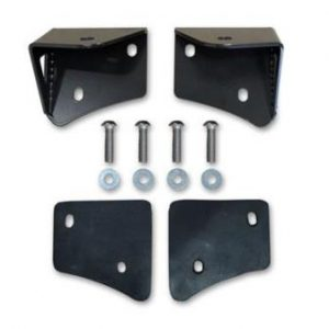 Poison Spyder TJ Lower A-Pillar Light Mount Set