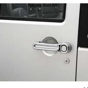 Jeep JK Wrangler Chrome Door Handle 4 Door Boot Kit