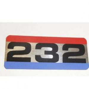 232 DECAL