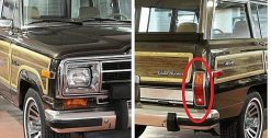 Grand Wagoneer Taillight lenses