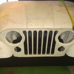 CJ Fibreglass Front end