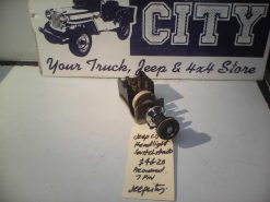 Jeep CJ Headlight Switch $46 (2)
