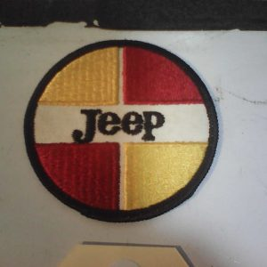 Jeep patch round red yellow 19.90