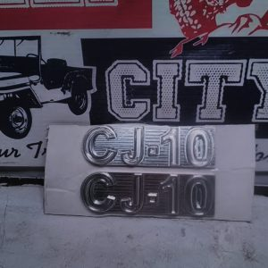 CJ10 Custom Badge